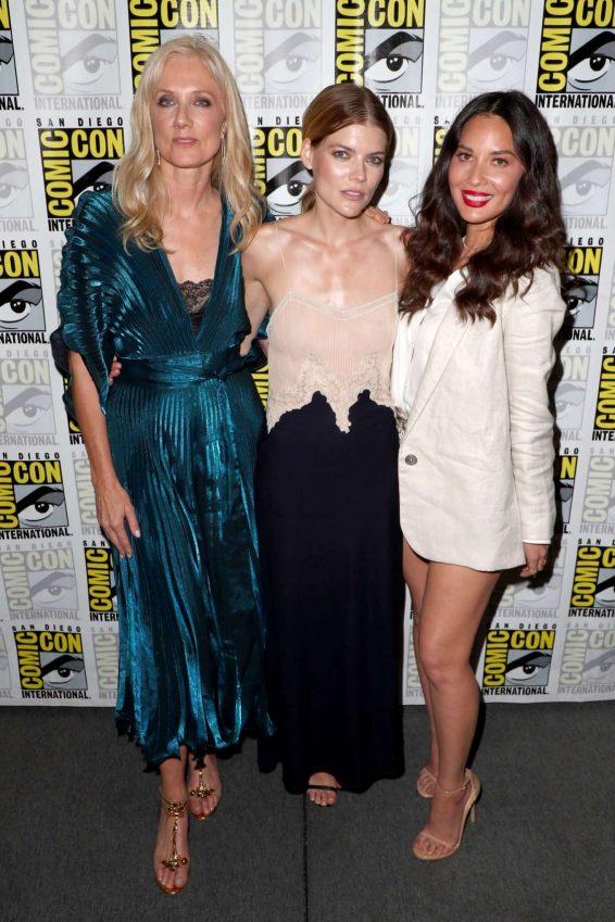 Olivia Munn 2019 : Olivia Munn – The Rook Panel at Comic Con San Diego 2019-21