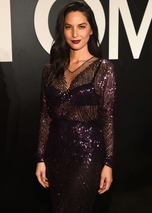 Olivia Munn - Tom Ford 2015 Womenswear Collection Presentation in LA
