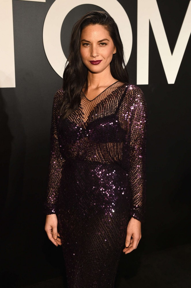 Olivia Munn – Tom Ford A/W 2015 Womenswear Collection Presentation in LA