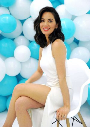 Olivia Munn - Visits ProactivMD Launch in NY