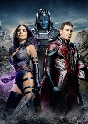Olivia Munn - 'XMen: Apocalypse' Movie Poster