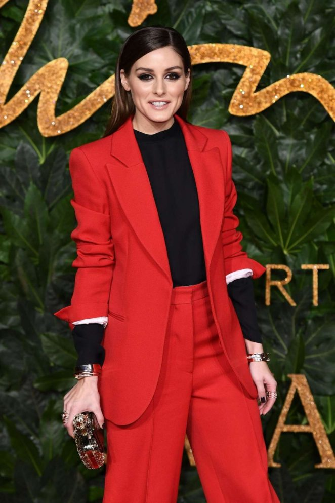 Olivia Palermo – 2018 British Fashion Awards in London