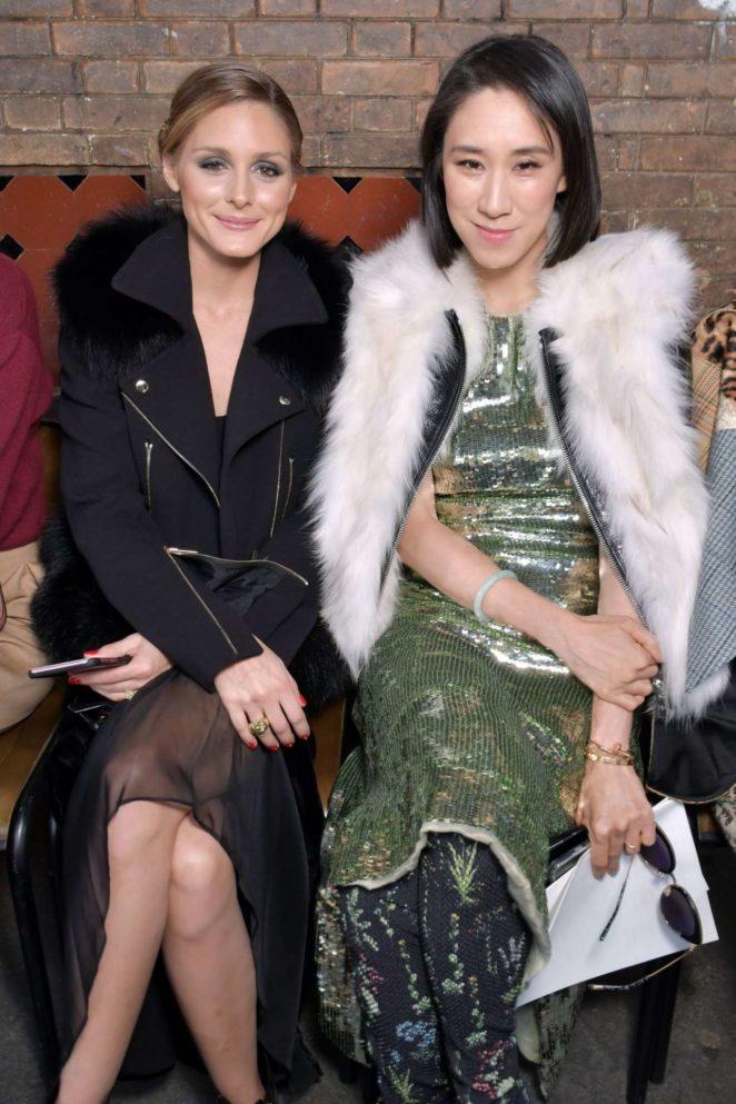 Olivia Palermo – Altuzarra 2017 Fashion Show in Paris