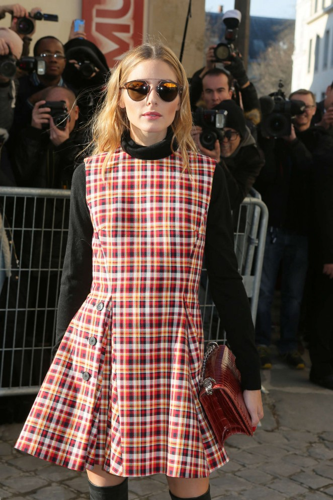 Olivia Palermo - Arrivals at Christian Dior Fashion Show SS 2016 in Paris
