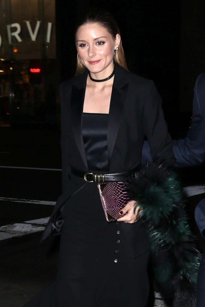 Olivia Palermo Arrives at Montblanc Pens A New Chapter With UNICEF in NY