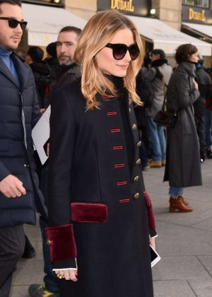 Olivia Palermo - Arrives at Schiapparelli Fashion Show 2017 in Paris