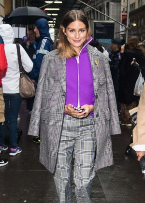 Olivia Palermo - Arrives at Tibi Fashion Show in New York