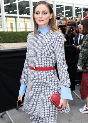 Olivia Palermo - Arrives at Valentino Fashion Show in Paris