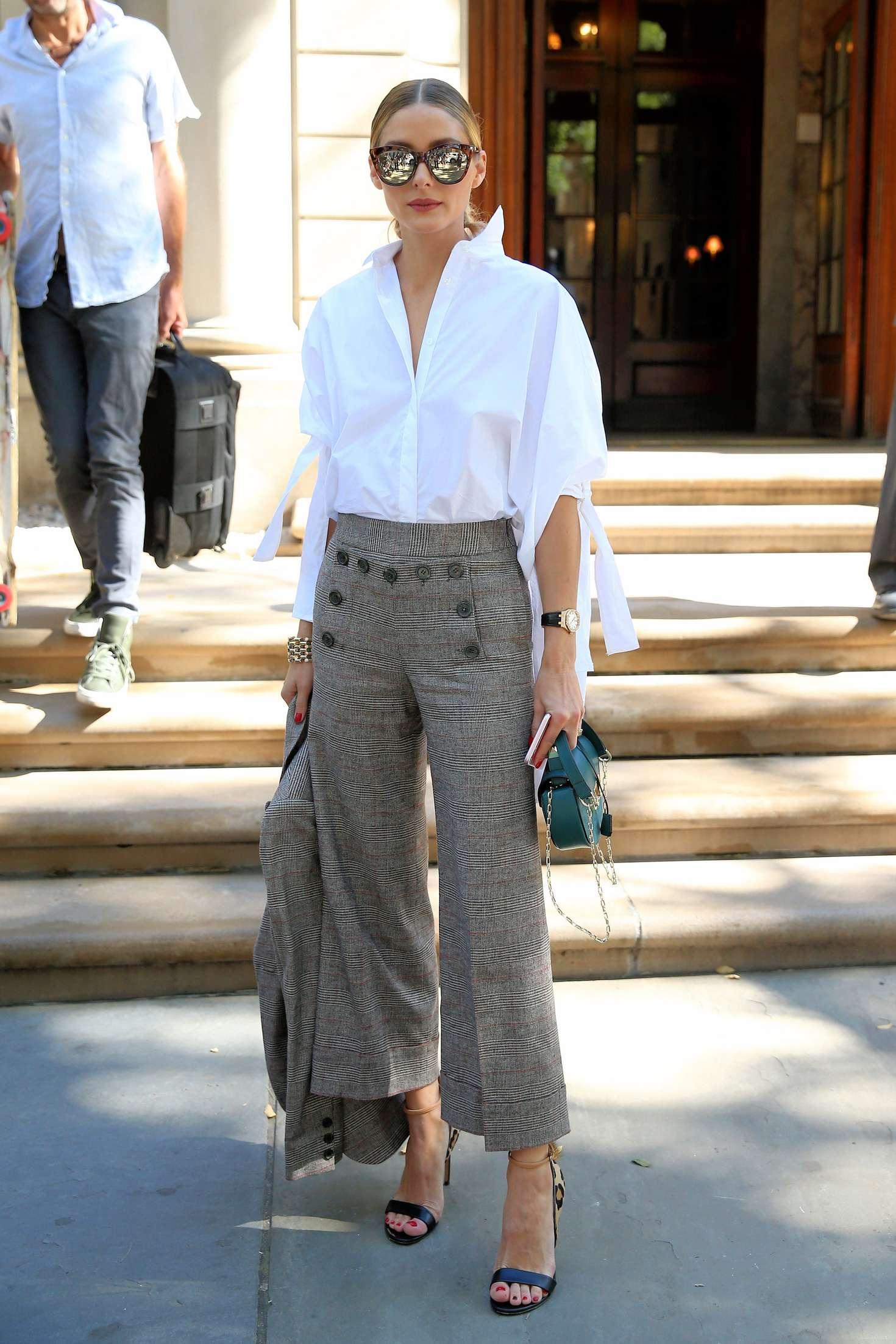 Olivia Palermo - Arrives to Carolina Herrera SS17 Show in New York City