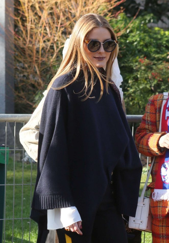 Olivia Palermo at Chloe Show in Paris