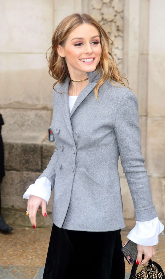 Olivia Palermo at Elie Saab Fashion Show in Paris