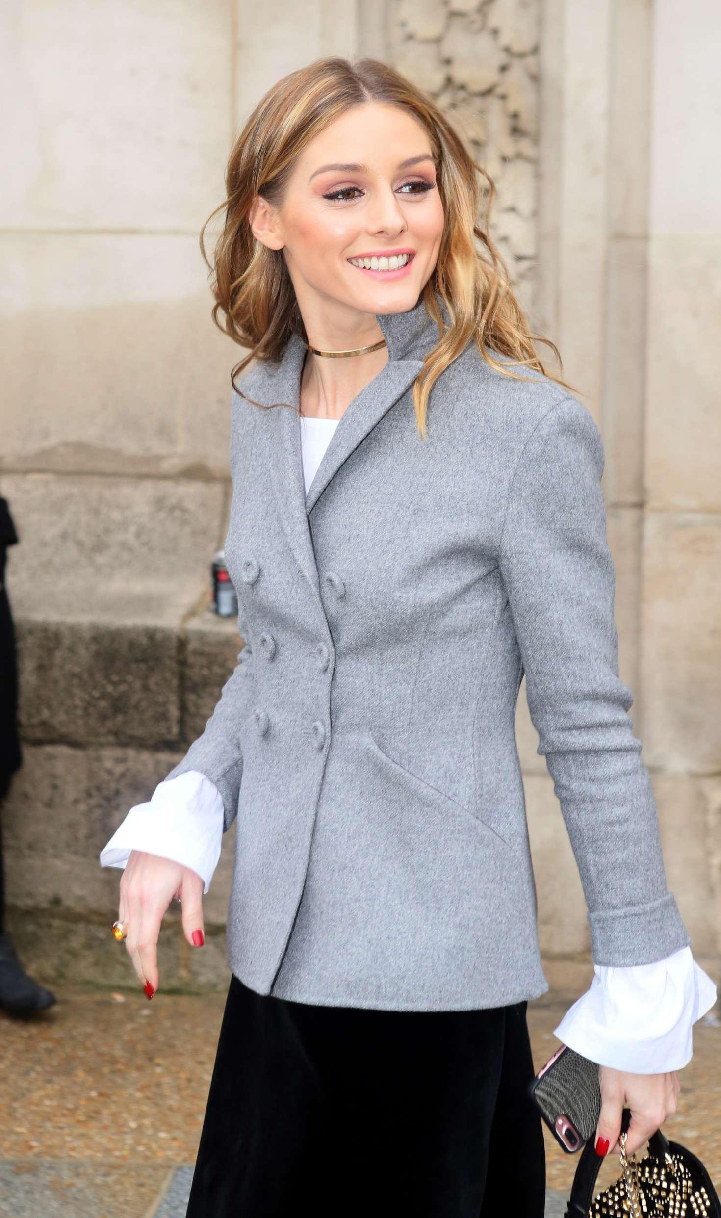 Olivia Palermo at Elie Saab Fashion Show in Paris