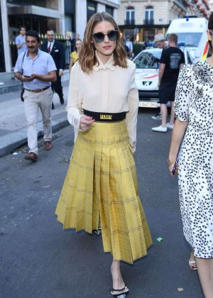 Olivia Palermo at Fendi Fashion Show 2017 in Paris