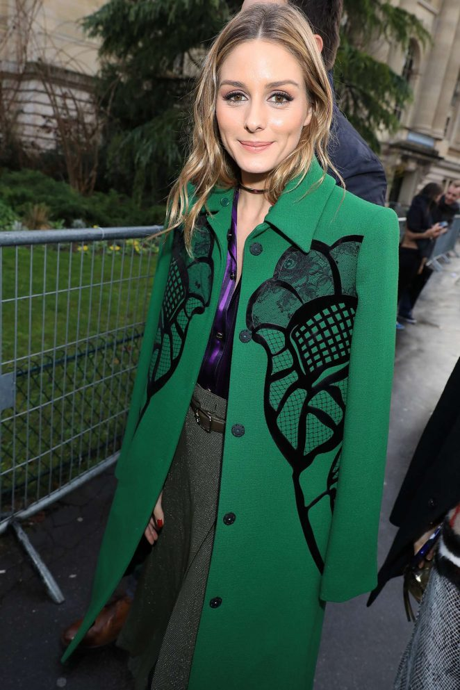 Olivia Palermo at Nina Ricci Show at 2017 PFW in Paris