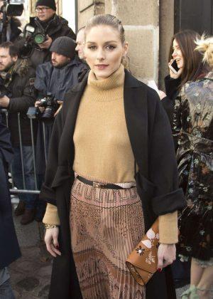 Olivia Palermo at Valentino Fashion Show in Paris