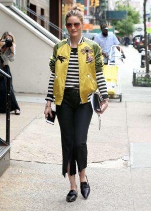 Olivia Palermo at Zero Bond Street in New York