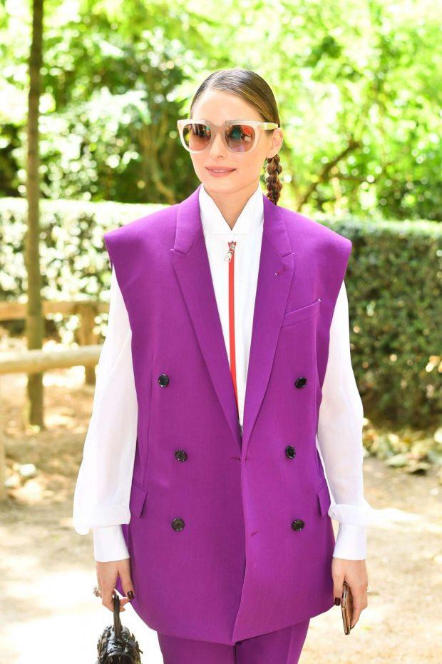 Olivia Palermo - Attends the Berluti Menswear SS 2020 Show in Paris