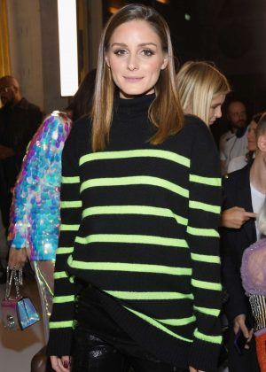 Olivia Palermo - Balmain Fashion Show in Paris