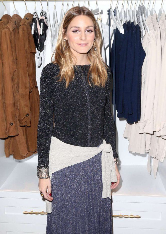 Olivia Palermo - Banana Republic x Olivia Palermo Pop-Up Shop Event in NYC
