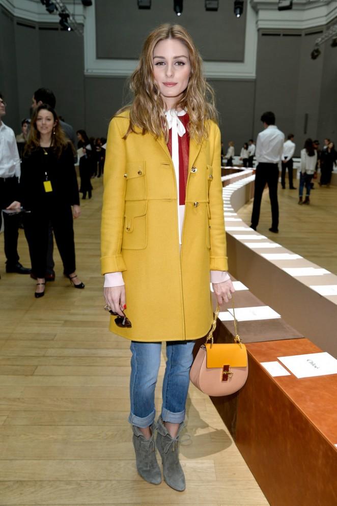 Olivia Palermo - Chloe Fashion Show 2015 in Paris