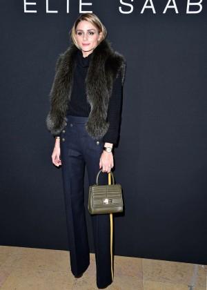 Olivia Palermo - Elie Saab Fashion Show 2016 in Paris