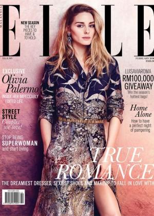 Olivia Palermo - ELLE Malaysia Magazine (February 2016)