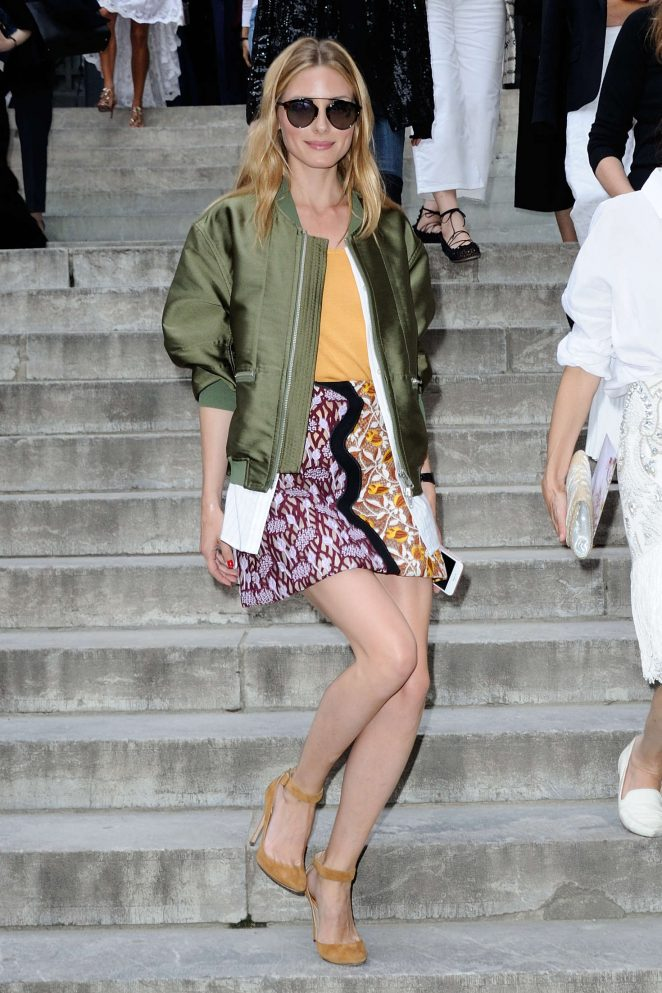 Olivia Palermo: Giambattista Valli Fashion Haute-Couture ...