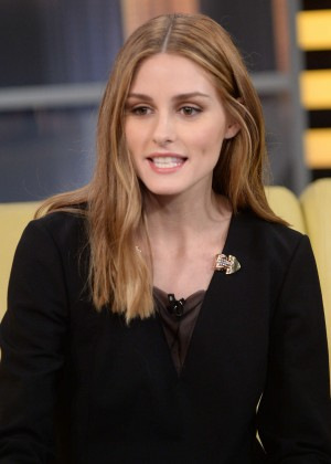 Olivia Palermo - 'Good Day New York' in Manhattan