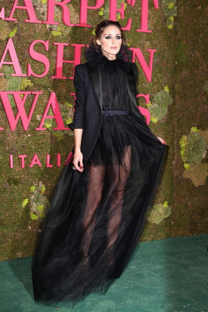 Olivia Palermo - Green Carpet Fashion Awards 2018 in Milan