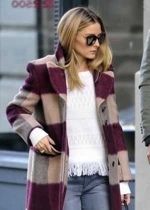 Olivia Palermo in Jeans out in New York