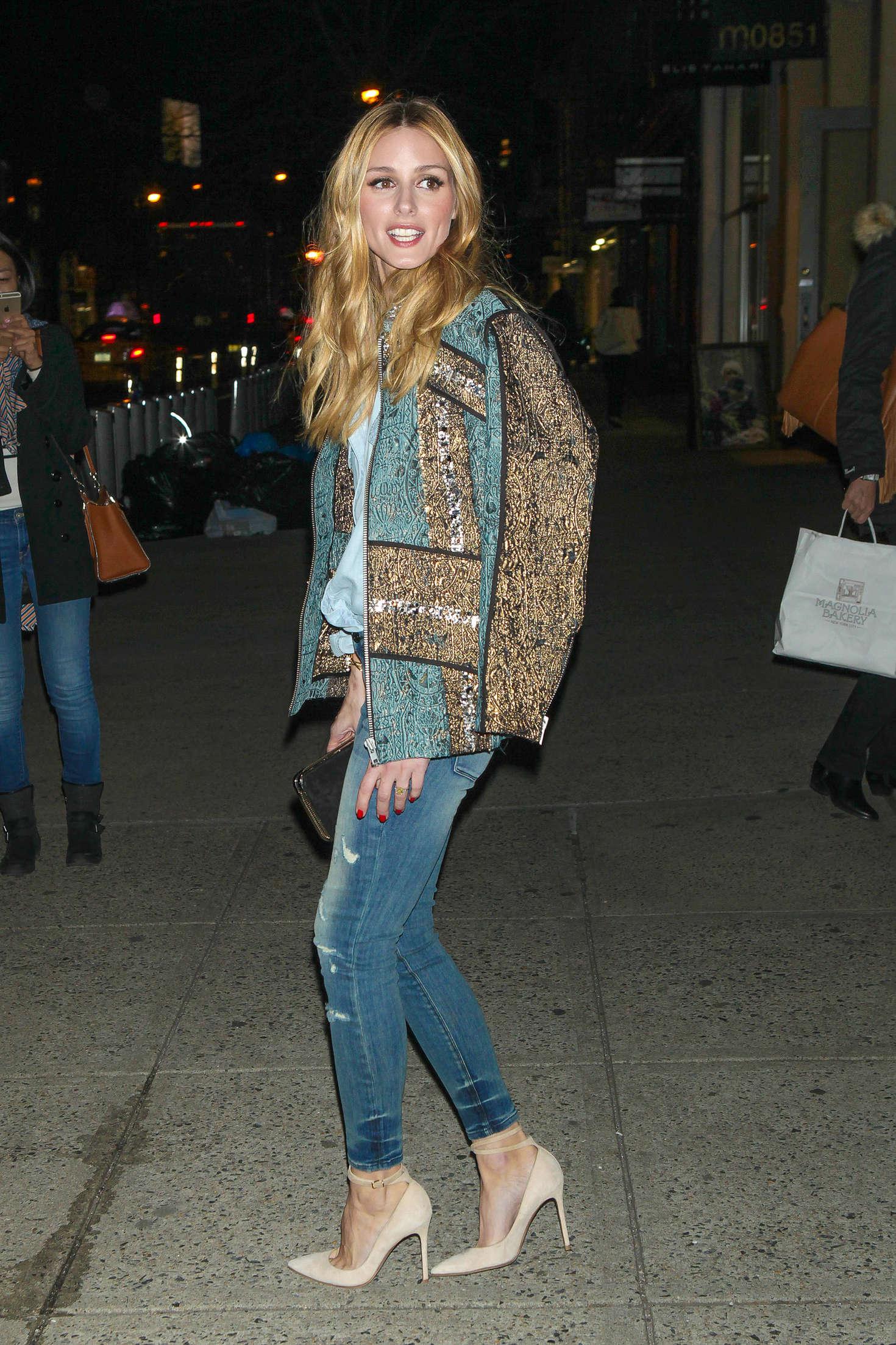 Olivia Palermo 2016 : Olivia Palermo in Jeans -03