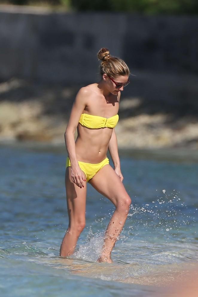 Olivia Palermo 2016 : Olivia Palermo in Yellow Bikini -16
