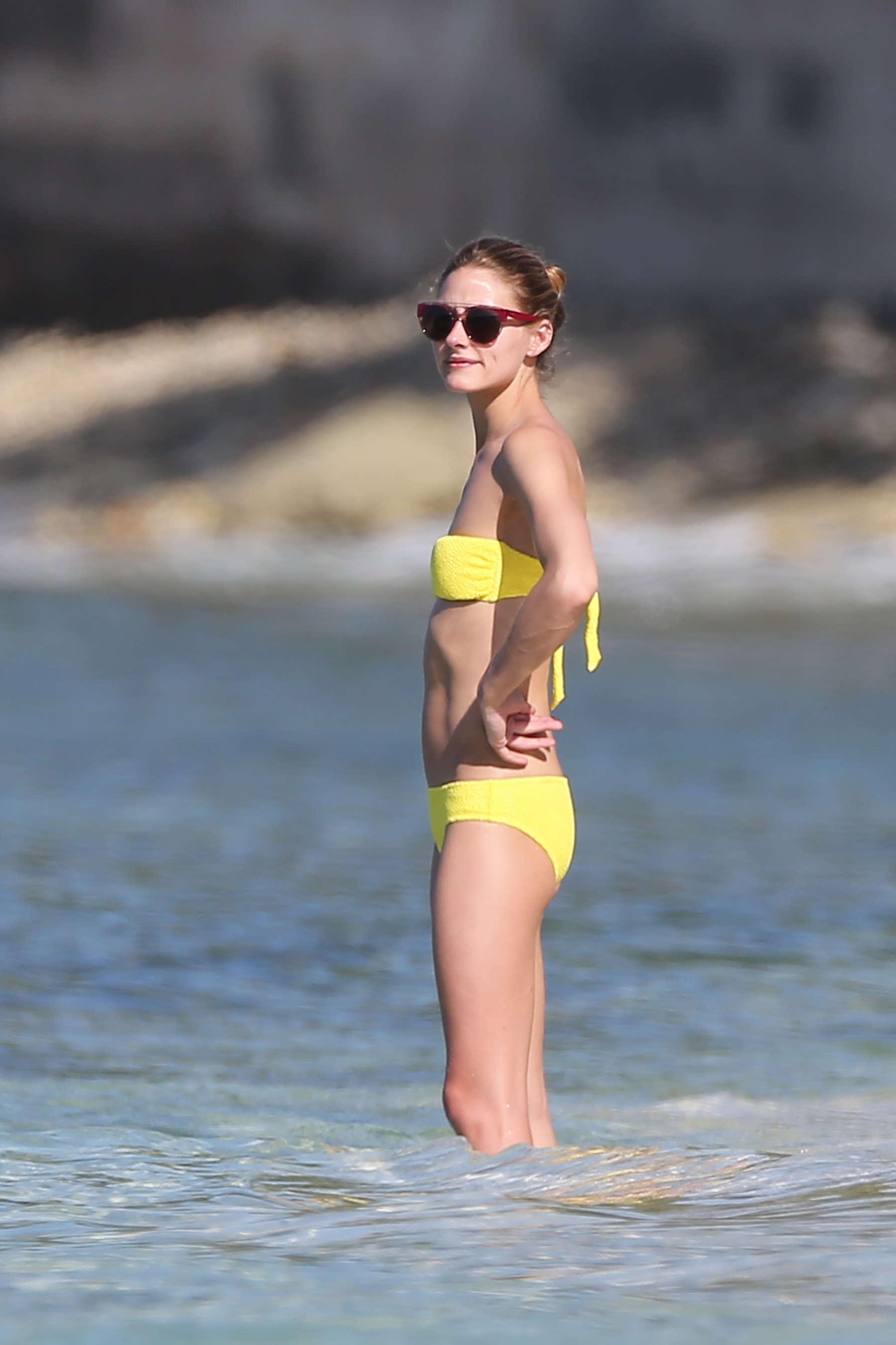 Olivia Palermo 2016 : Olivia Palermo in Yellow Bikini -45