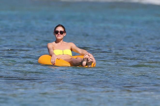 Olivia Palermo 2016 : Olivia Palermo in Yellow Bikini -46