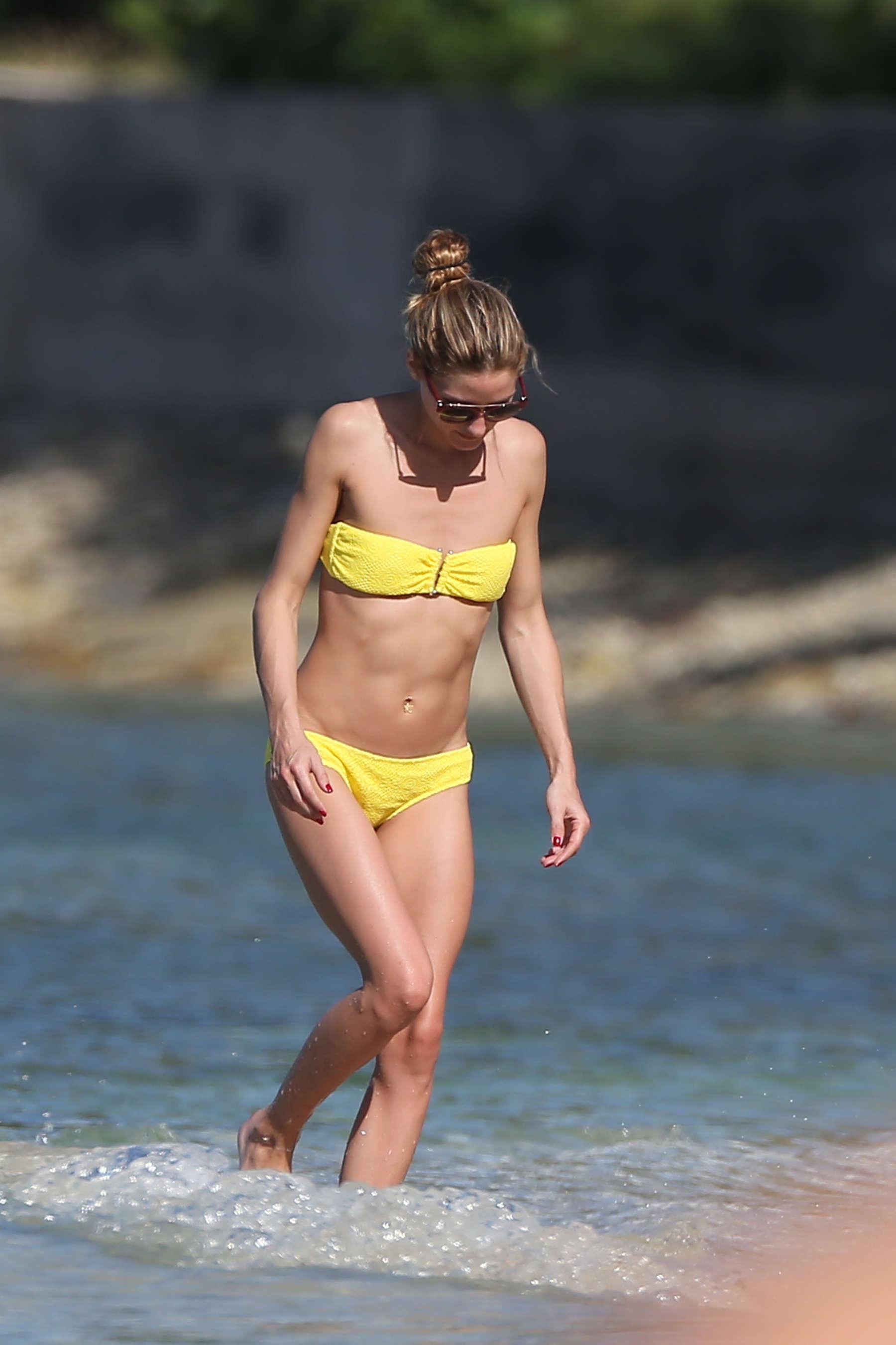 Olivia Palermo 2016 : Olivia Palermo in Yellow Bikini -51