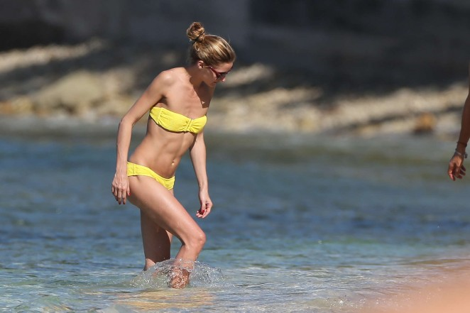 Olivia Palermo 2016 : Olivia Palermo in Yellow Bikini -61