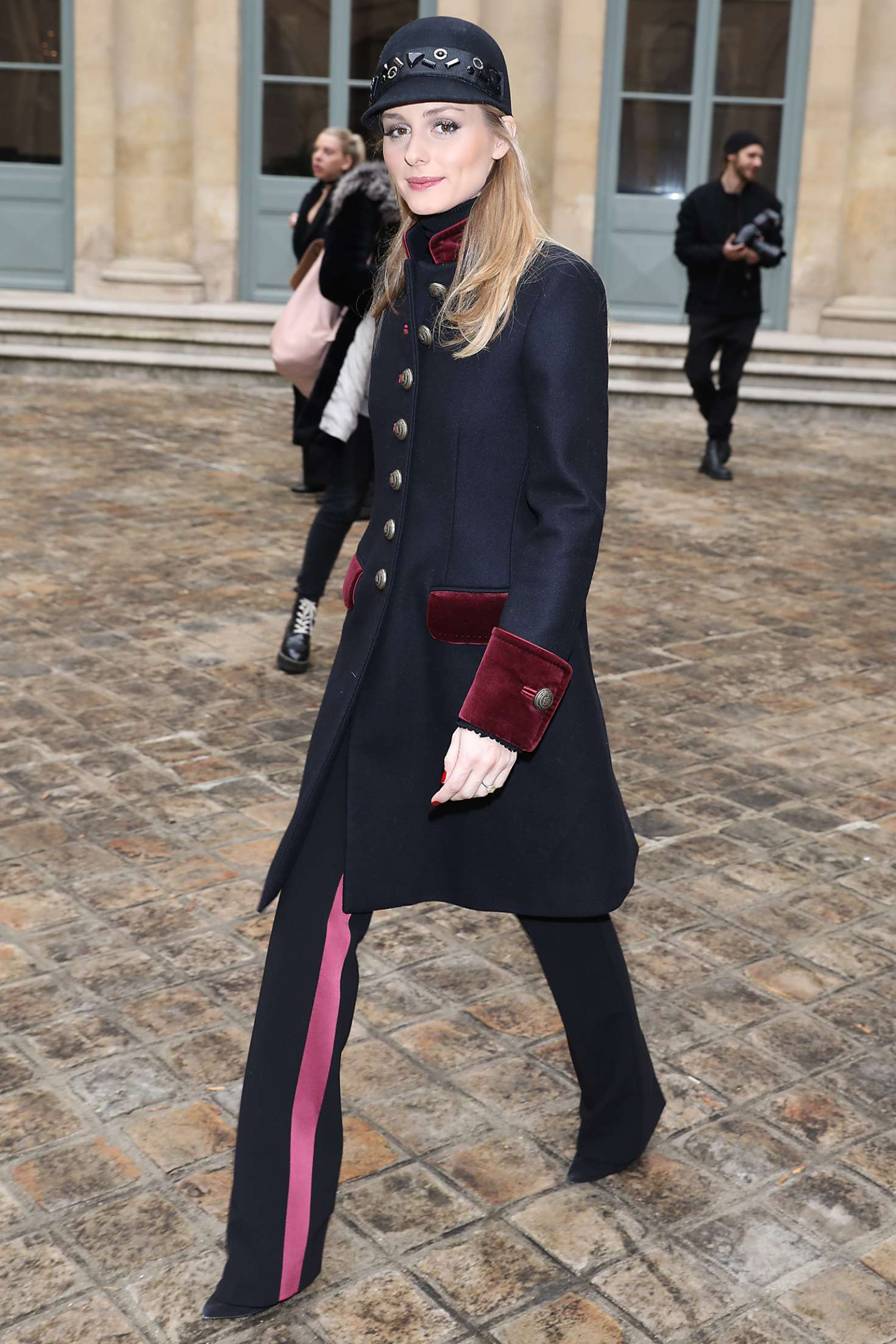 Olivia Palermo - Leaving Alexis Mabille FW 2017 Show in Paris