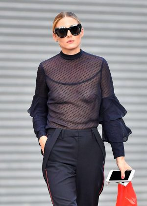 Olivia Palermo - Leaving Her Apartment in Brooklyn