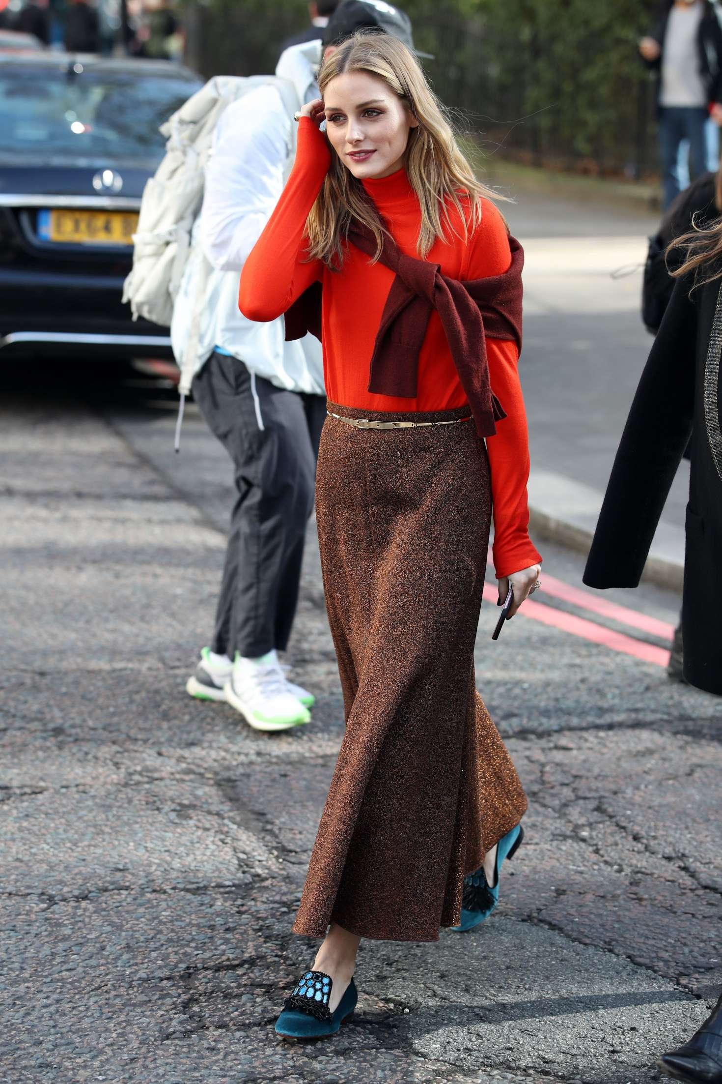 Olivia Palermo London Fashion Week 2017 In London