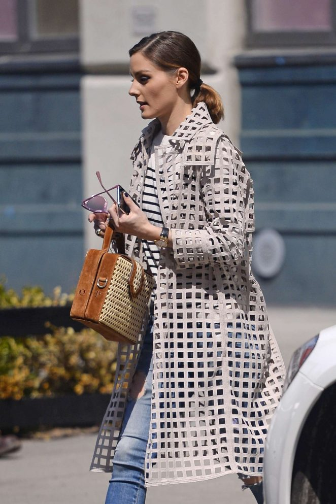 Olivia Palermo - Out and about in New York City