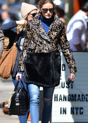 Olivia Palermo - Out and about in NYC