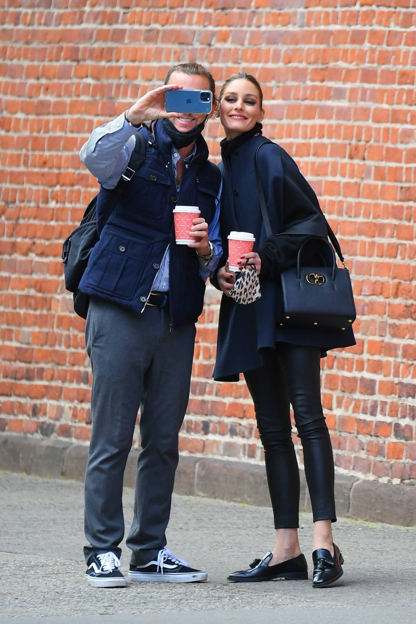Olivia Palermo 2021 : Olivia Palermo – Out for a coffee run in Tribeca – New York-02