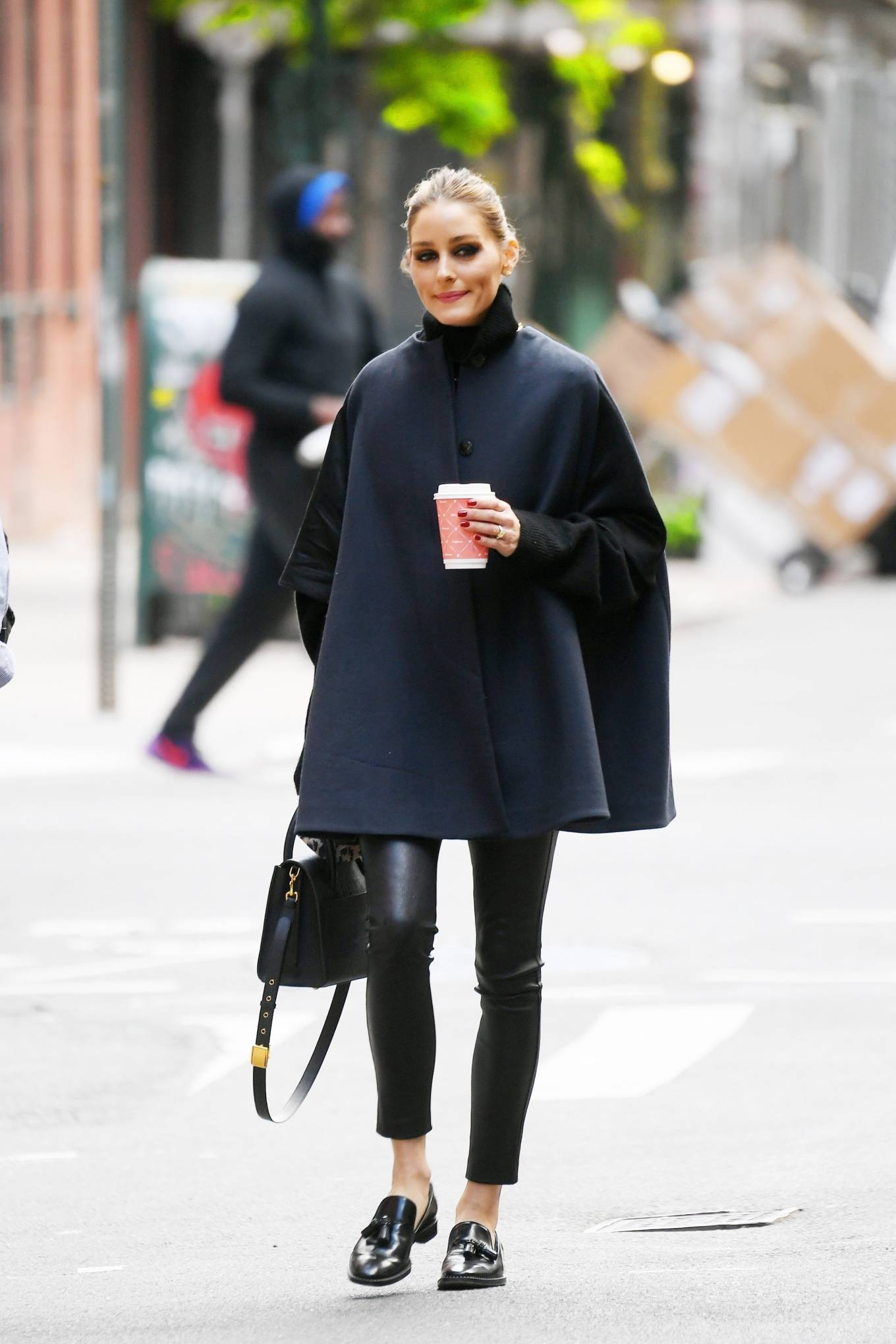 Olivia Palermo 2021 : Olivia Palermo – Out for a coffee run in Tribeca – New York-06
