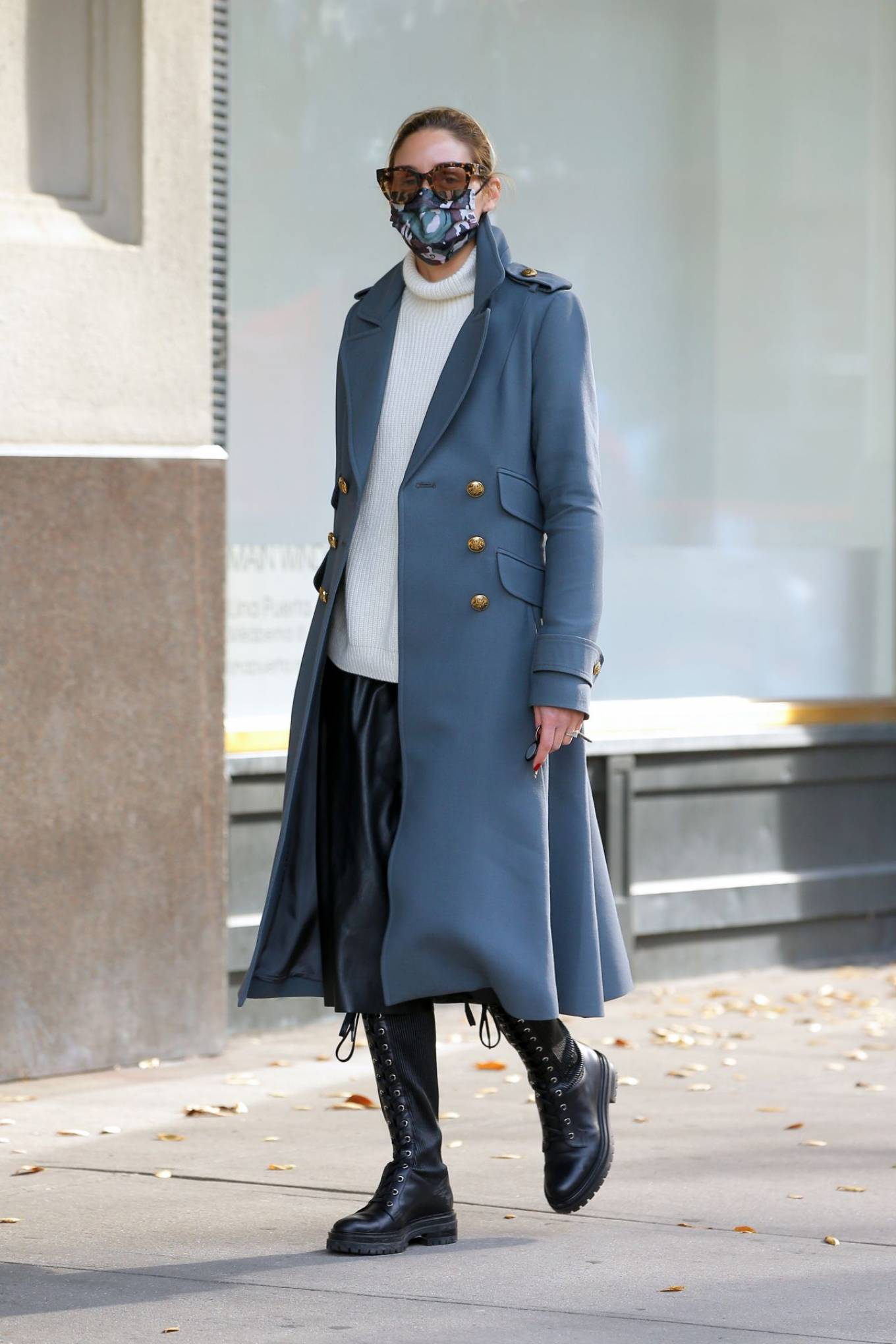 Olivia Palermo 2020 : Olivia Palermo – Out for a stroll in NYC-05