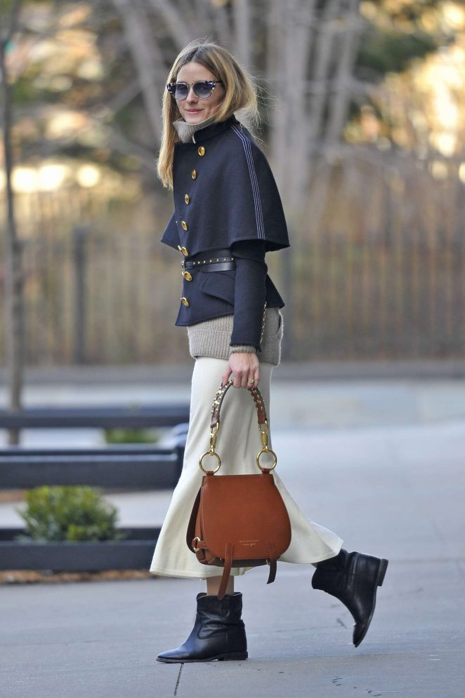Olivia Palermo out in Brooklyn -02