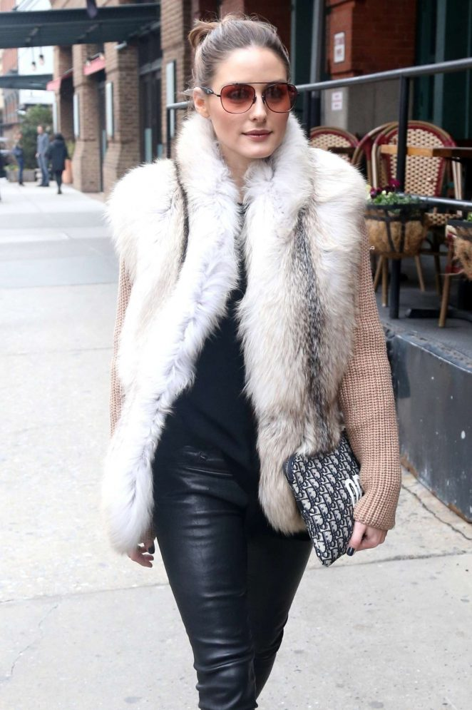 Olivia Palermo - Out in Tribeca