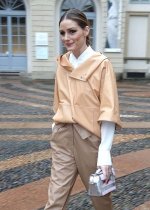 Olivia Palermo out to Fashion Week in Milan