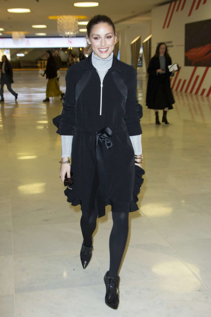 Olivia Palermo - Outside Giambattista Valli Fashion Show in Paris