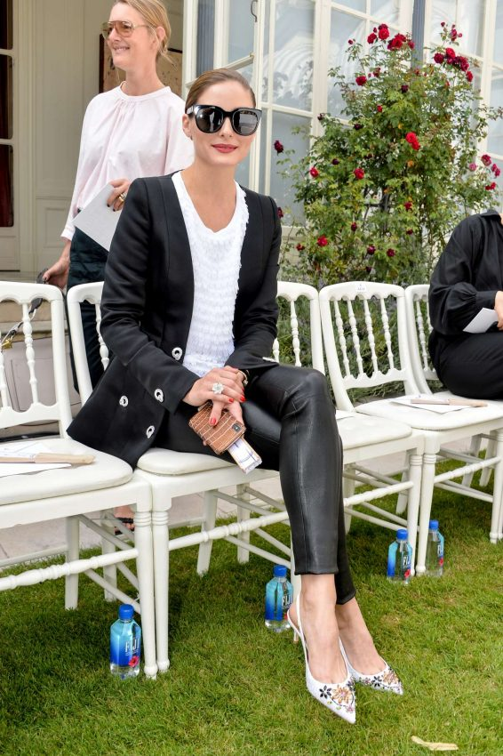 Olivia Palermo - Ralph and Russo show in Paris Fasion Week 2019