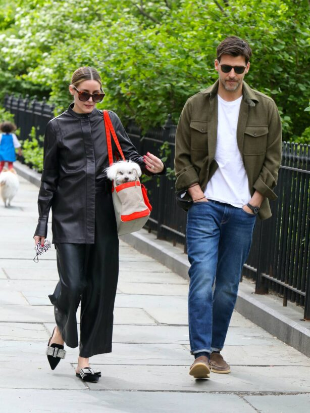 Olivia Palermo - Seen at the park in Brooklyn